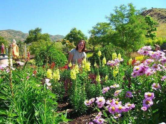 Red Butte Garden: 庭園と少女