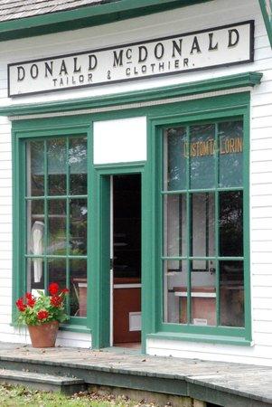 Sherbrooke Village : Tailor