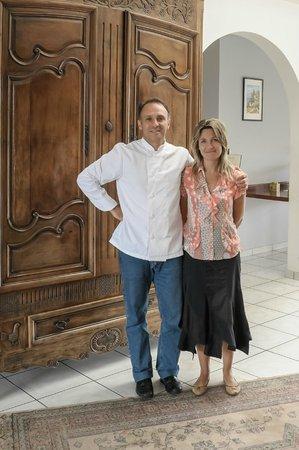 Alysson Hotel : gaelle et christophe DODARD  les propriétaires
