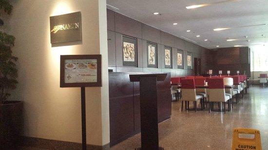 Grands I Hotel: Cafe
