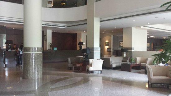 Grands I Hotel: waiting area