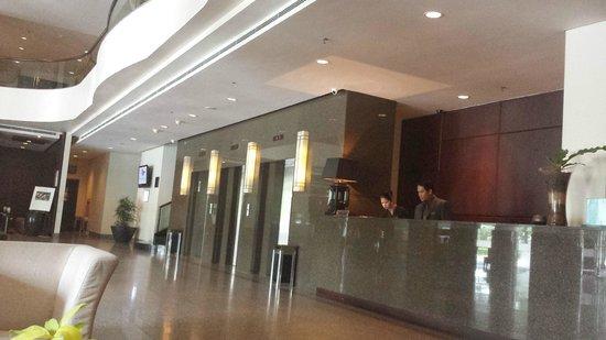 Grand I Hotel: Reception