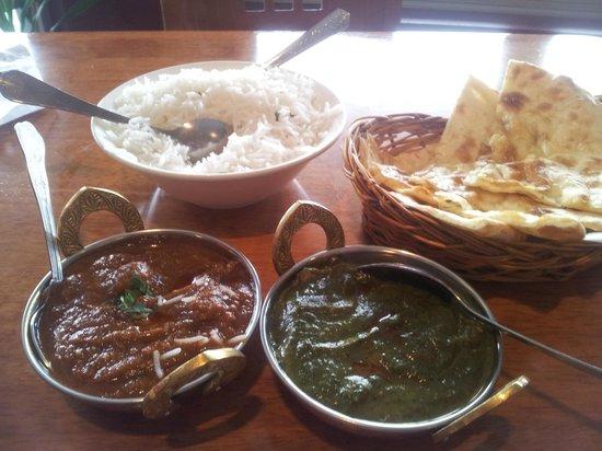 Shiraz Indian Restaurant walton street: Great Curry