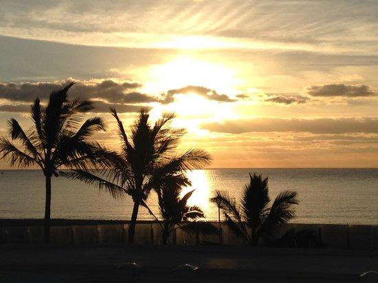 Las Costas : Blick vom Balkon gegen Osten
