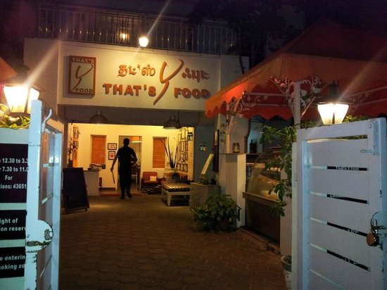That's Y Food: View from outside