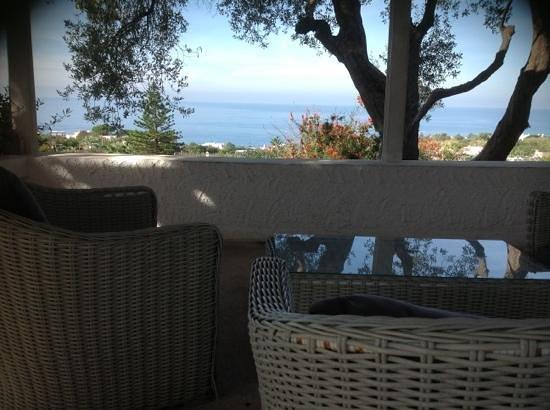 Residence Villa Ravino: la terrazza