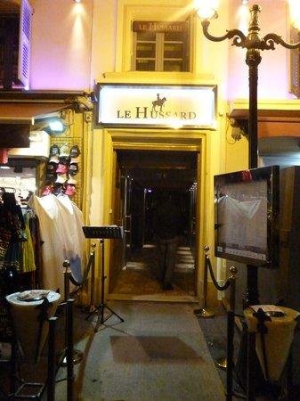 Le Hussard : restaurant