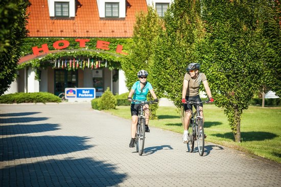 Pracharna Park Hotel Olomouc: Free bicycles for guests