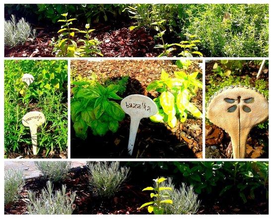Pracharna Park Hotel Olomouc: Herb garden