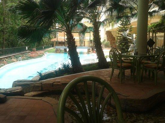 Golf Course Hotel: Restaurant de l'hôtel