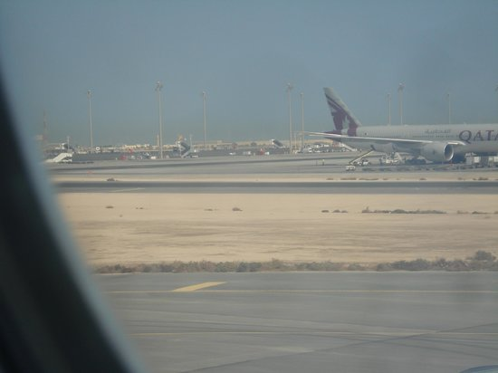 National Museum of Qatar: View of the airport