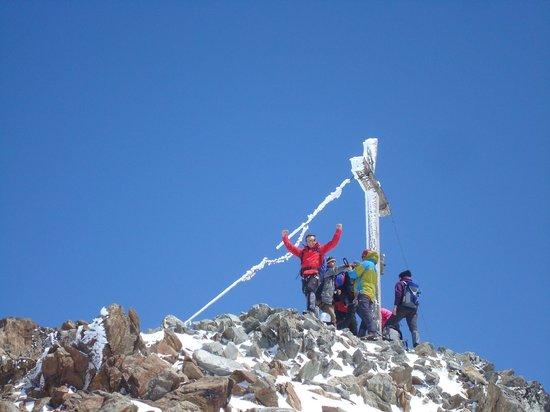 Alpine School Bergaufbergab: Piz Buin Top (3312m)