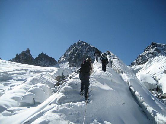 Vorarlberg, Austria: Piz Buin Besterigung Sommer