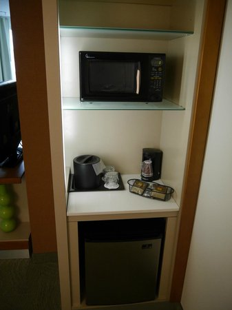 SpringHill Suites Vernal : kitchenette