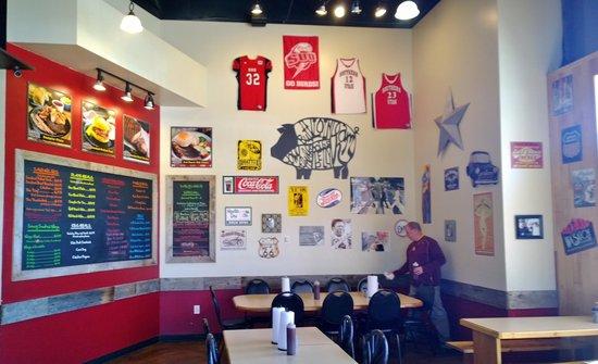 Sonnyboys BBQ: Menus On The Wall