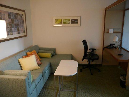SpringHill Suites Vernal : Lounge/desk area