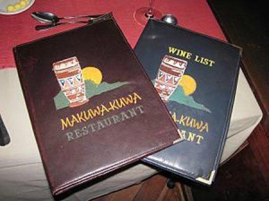Makuwa-Kuwa Restaurant : Makuwa Kuwa Restaurant