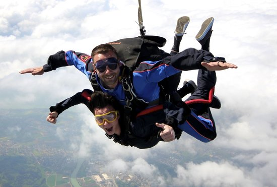 saut en parachute kappelen