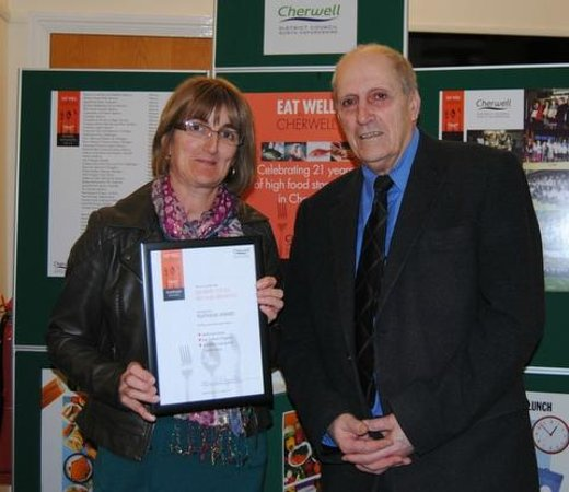 Banbury Cross Bed & Breakfast: Platinum Award 'Eat Well in Cherwell' Scheme