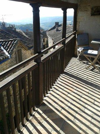 Chez Delphine : Balcony