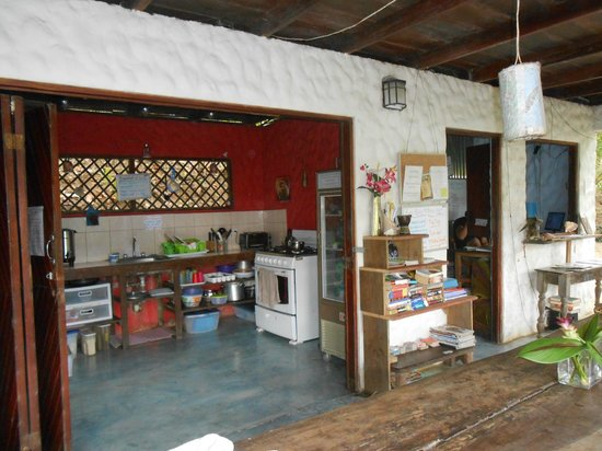 Luz en el Cielo Eco-B&B/Hostel: Keuken