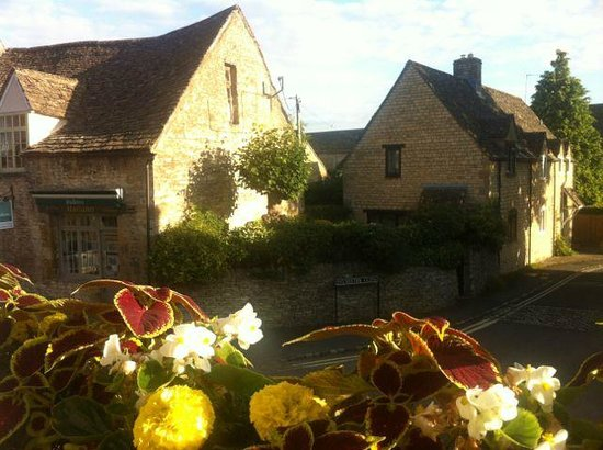 The Angel at Burford: view from room