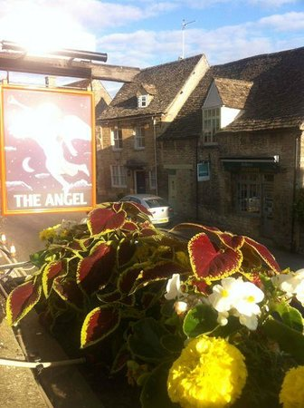 The Angel at Burford: view from our room