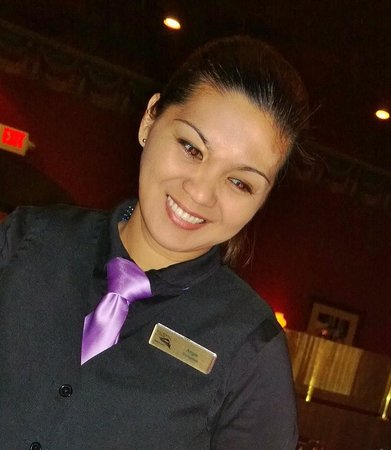 Railroad Pass Hotel & Casino: Our Friendly Server, Ms. Angie