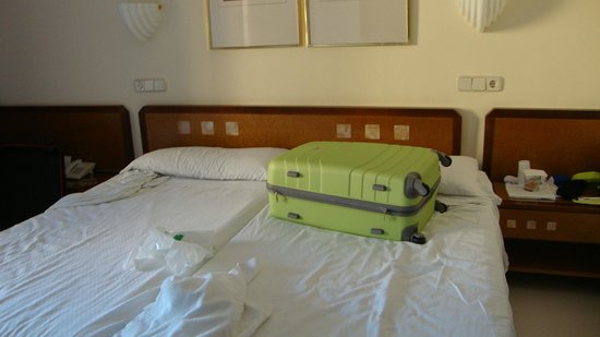 Hipotels Marfil Playa : Chambre