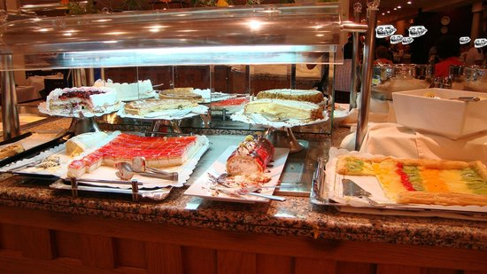 Hipotels Marfil Playa : Buffet de desserts