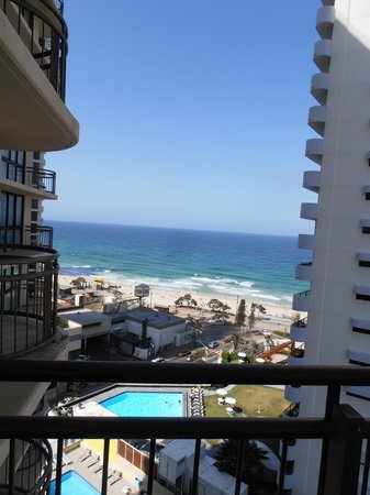 Beachcomber Resort Surfers Paradise: one view from balcony