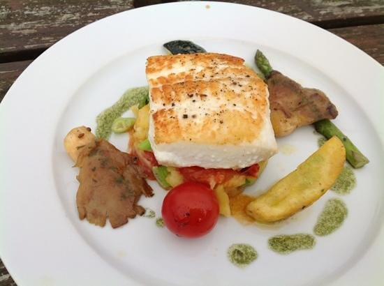 The Boathouse: Gigha halibut tasted every bit as good as it looked!