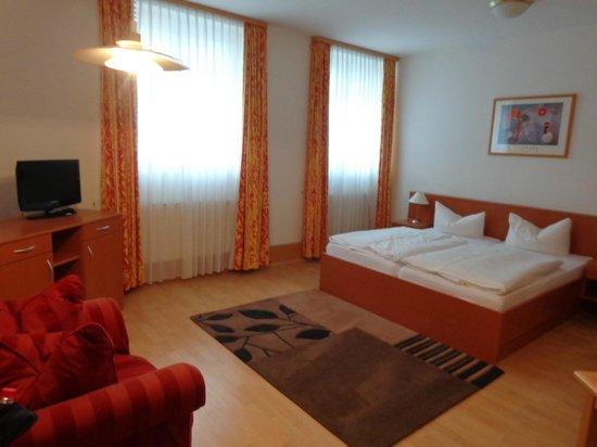 Apart Hotel Wernigerode: Onze kamer