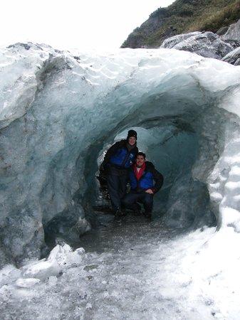 Fox Glacier Hiking Trails: Ice Cave