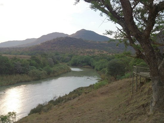 Tugela River Lodge: View from the deck