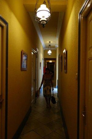 Residencia Universitaria Santa Paula: Couloir