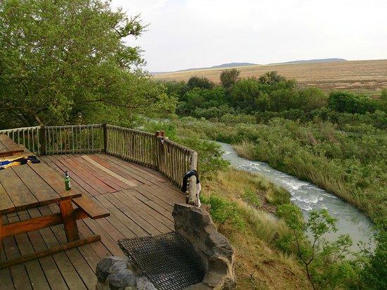 Tugela River Lodge : Main Lodge Deck