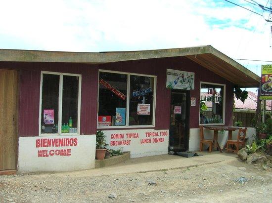 Camino Verde Bed & Breakfast Monteverde : Soda La Amistad
