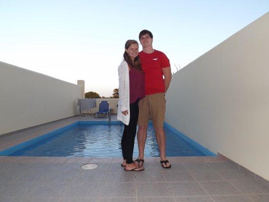 Solimar Aquamarine Hotel : Private pool area
