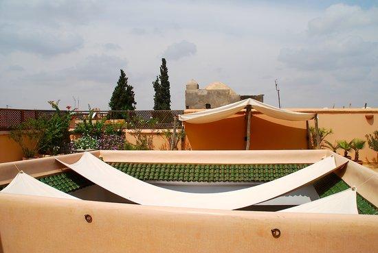 Riad Limouna: Un peu d'ombre sur la terrasse