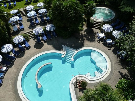 Meisters Hotel Irma: wunderschöne Poolbereich