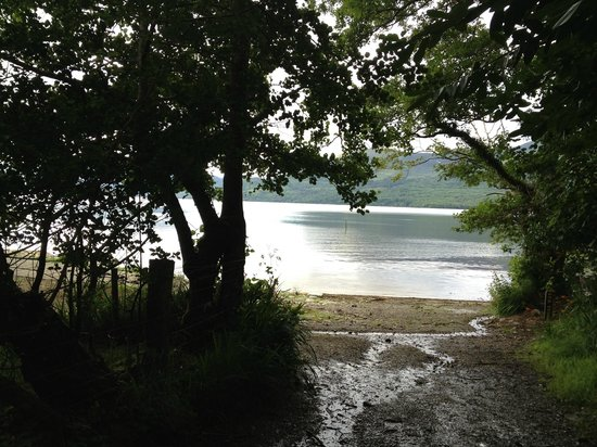 Loch Lein Country House : This is just a few metres from our hotel!