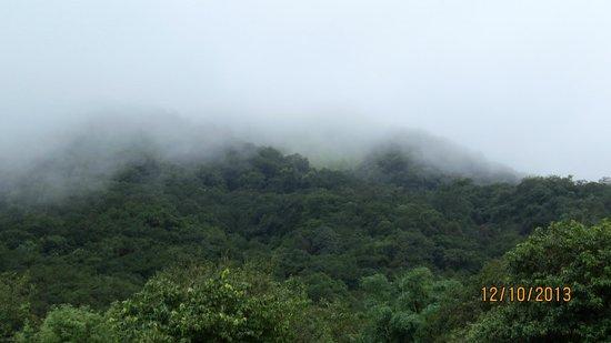 Krishna Continental: Mist over hills, drive in Mahabaleshwar
