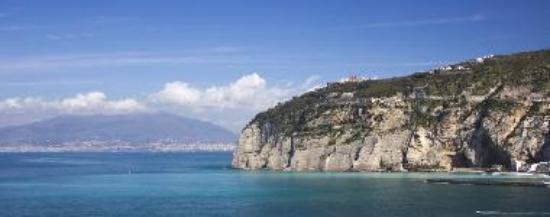 view of the sorrento peninsula