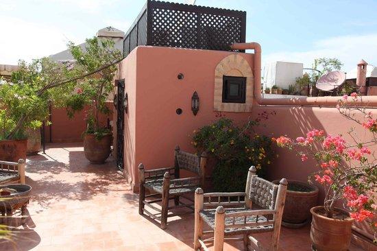 Riad Itrane : terrasses