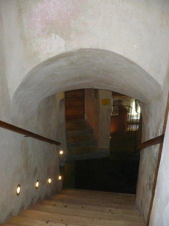 Hotel Bagni Vecchi: interno
