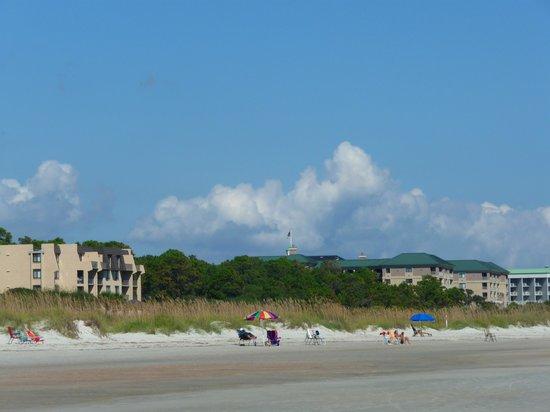 Marriott's Barony Beach Club : Beach in front of Barony