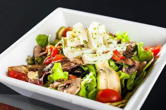 Churrascaria Marius Casablanca : La salade a volonté de la Churrascaria Marius