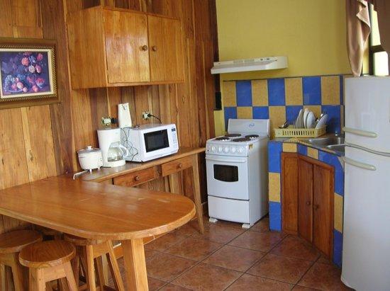Natural Pacific Suites : Cocina del apartamento
