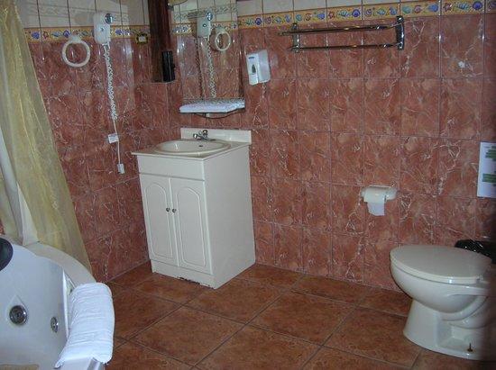 Natural Pacific Suites : Baño